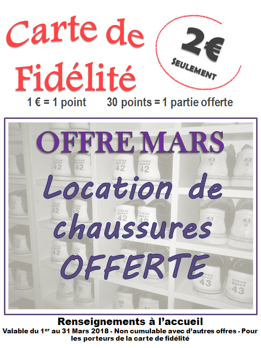 Offre Mars 2018