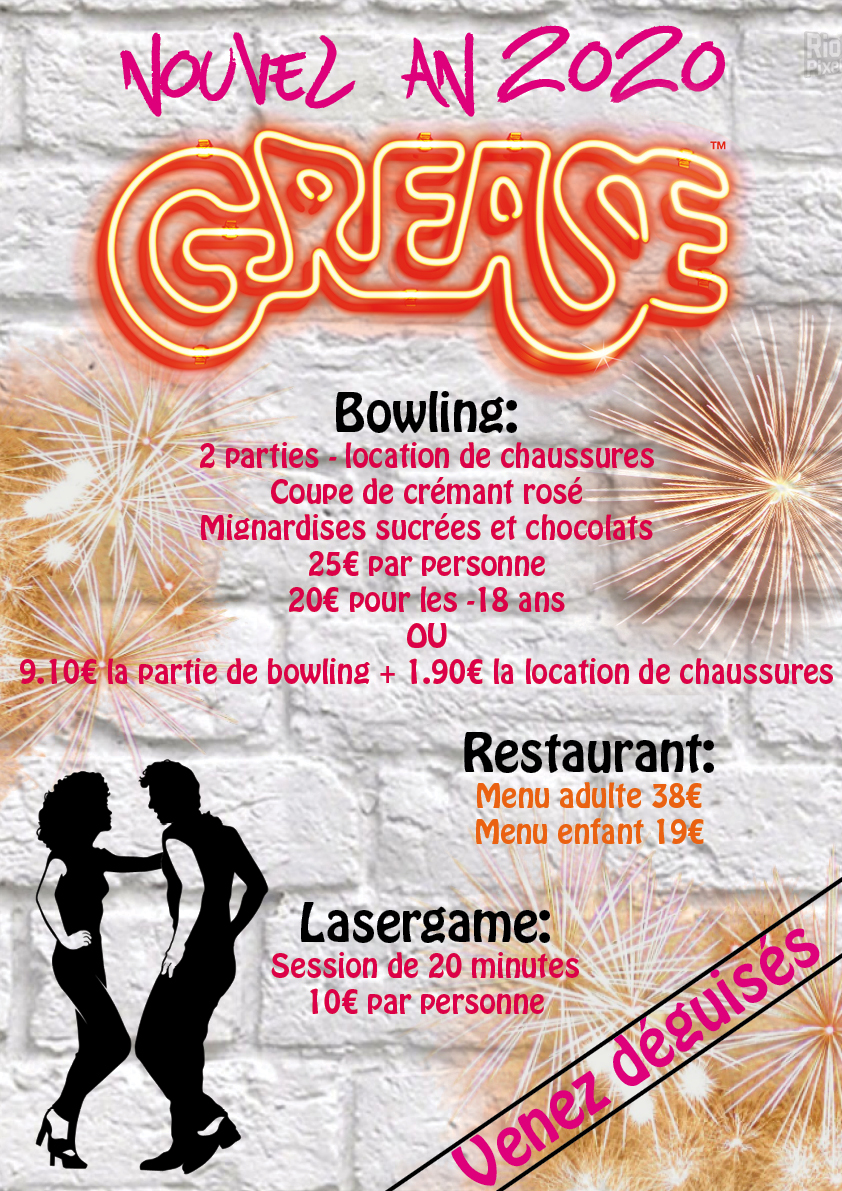 NOUVEL AN 2020  GREASE !!